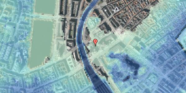 Stomflod og havvand på Axeltorv 3A, 1609 København V