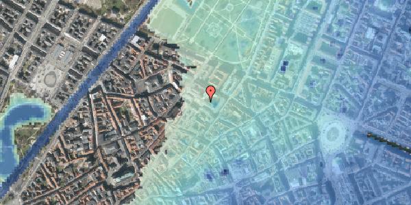 Stomflod og havvand på Pilestræde 58, st. th, 1112 København K