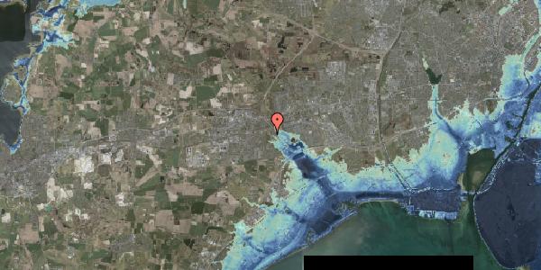 Stomflod og havvand på Kongsgården 56, 2630 Taastrup