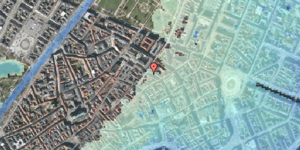 Stomflod og havvand på Pilestræde 45, 1. , 1112 København K
