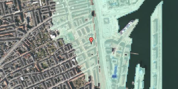 Stomflod og havvand på Præstøgade 20, 2100 København Ø