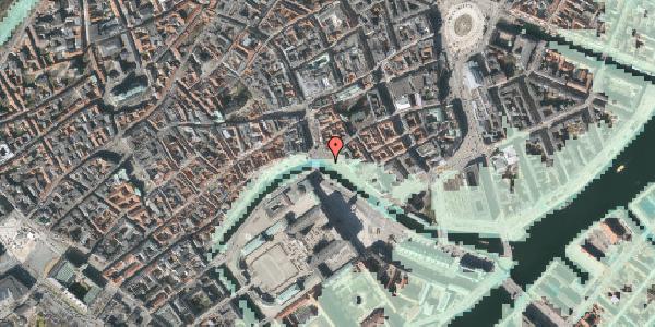 Stomflod og havvand på Ved Stranden 19, 1061 København K