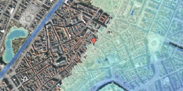 Stomflod og havvand på Løvstræde 2, 3. tv, 1152 København K