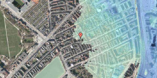 Stomflod og havvand på Rosenvængets Allé 20E, 2100 København Ø