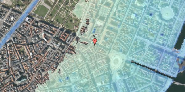 Stomflod og havvand på Store Regnegade 26B, 1110 København K