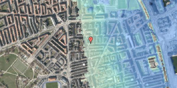 Stomflod og havvand på Korsørgade 1, 2100 København Ø