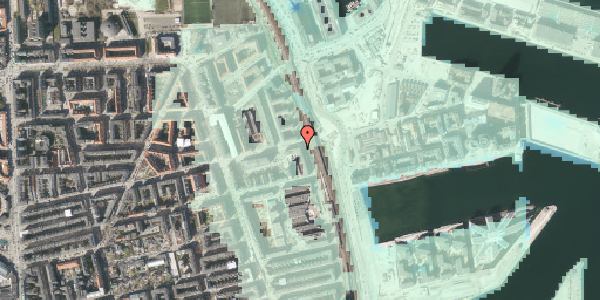 Stomflod og havvand på Østbanegade 135, 1. , 2100 København Ø
