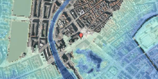 Stomflod og havvand på Vesterbrogade 2A, 2. , 1620 København V