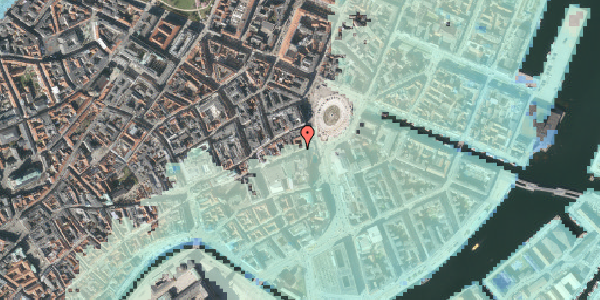 Stomflod og havvand på Lille Kongensgade 4, st. , 1074 København K
