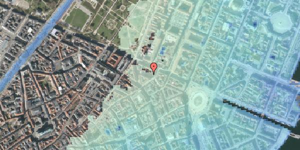 Stomflod og havvand på Ny Østergade 26, 1101 København K