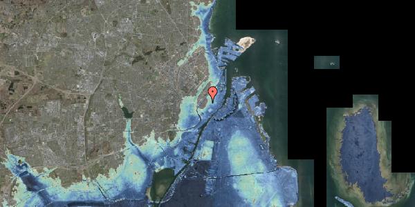 Stomflod og havvand på Skindergade 10, 1159 København K