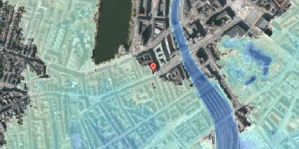 Stomflod og havvand på Vesterbrogade 12, 1. th, 1620 København V