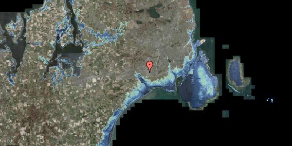 Stomflod og havvand på Park Alle 380, 2625 Vallensbæk