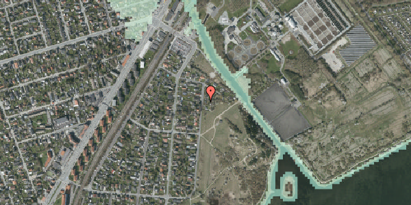 Stomflod og havvand på Nordre Kystagervej 5, 2650 Hvidovre