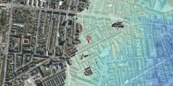 Stomflod og havvand på Vesterbrogade 124A, 1620 København V