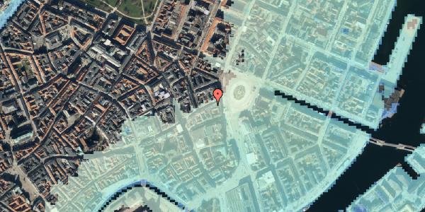 Stomflod og havvand på Østergade 3, 3. , 1100 København K
