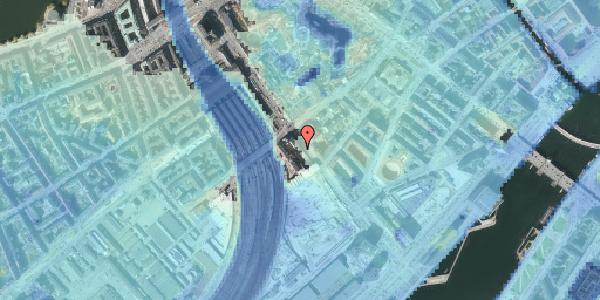 Stomflod og havvand på Bernstorffsgade 30, 1. , 1577 København V