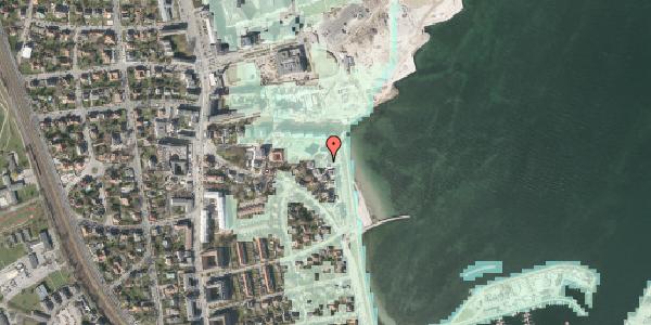 Stomflod og havvand på Strandpromenaden 67, 2. , 2100 København Ø