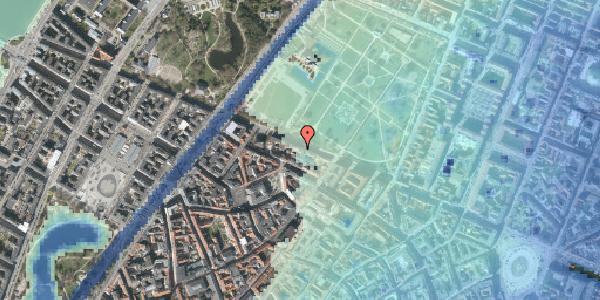 Stomflod og havvand på Gothersgade 99, 1123 København K