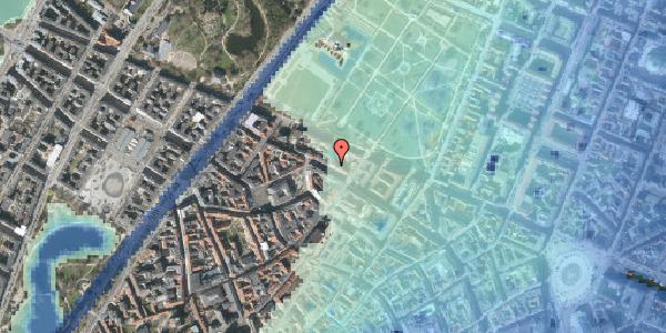 Stomflod og havvand på Åbenrå 12, 1124 København K