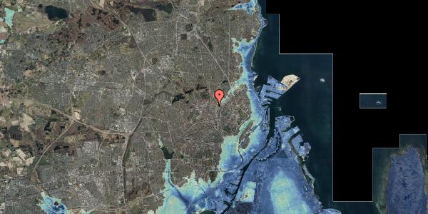 Stomflod og havvand på Bygmestervej 21C, 1. tv, 2400 København NV