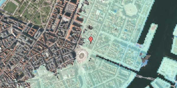 Stomflod og havvand på Kongens Nytorv 6A, 1050 København K