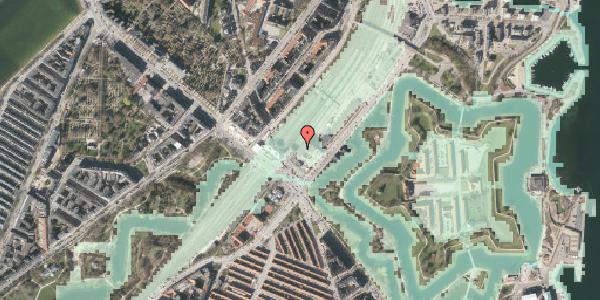 Stomflod og havvand på Oslo Plads 2C, 3. , 2100 København Ø