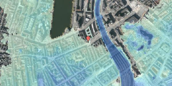 Stomflod og havvand på Vesterbrogade 10, 3. , 1620 København V
