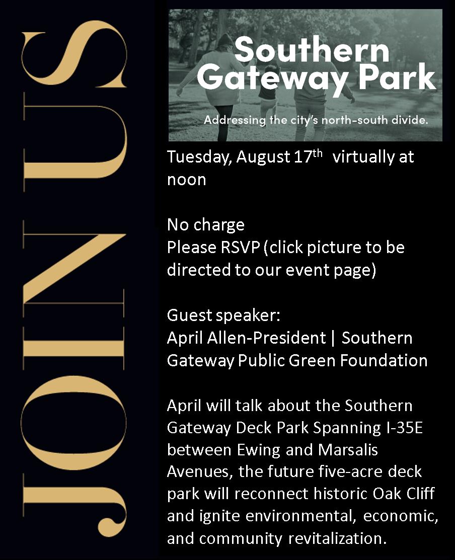 southern gateway invite