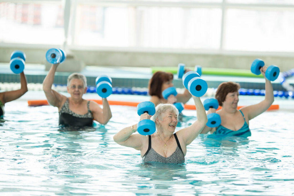 Benefits of Water Exercise for Seniors Sedgebrook