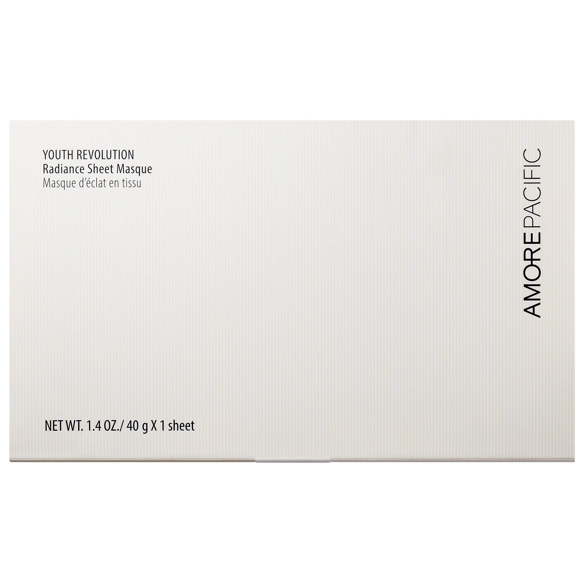 AMOREPACIFIC Youth Revolution Radiance Sheet Masque