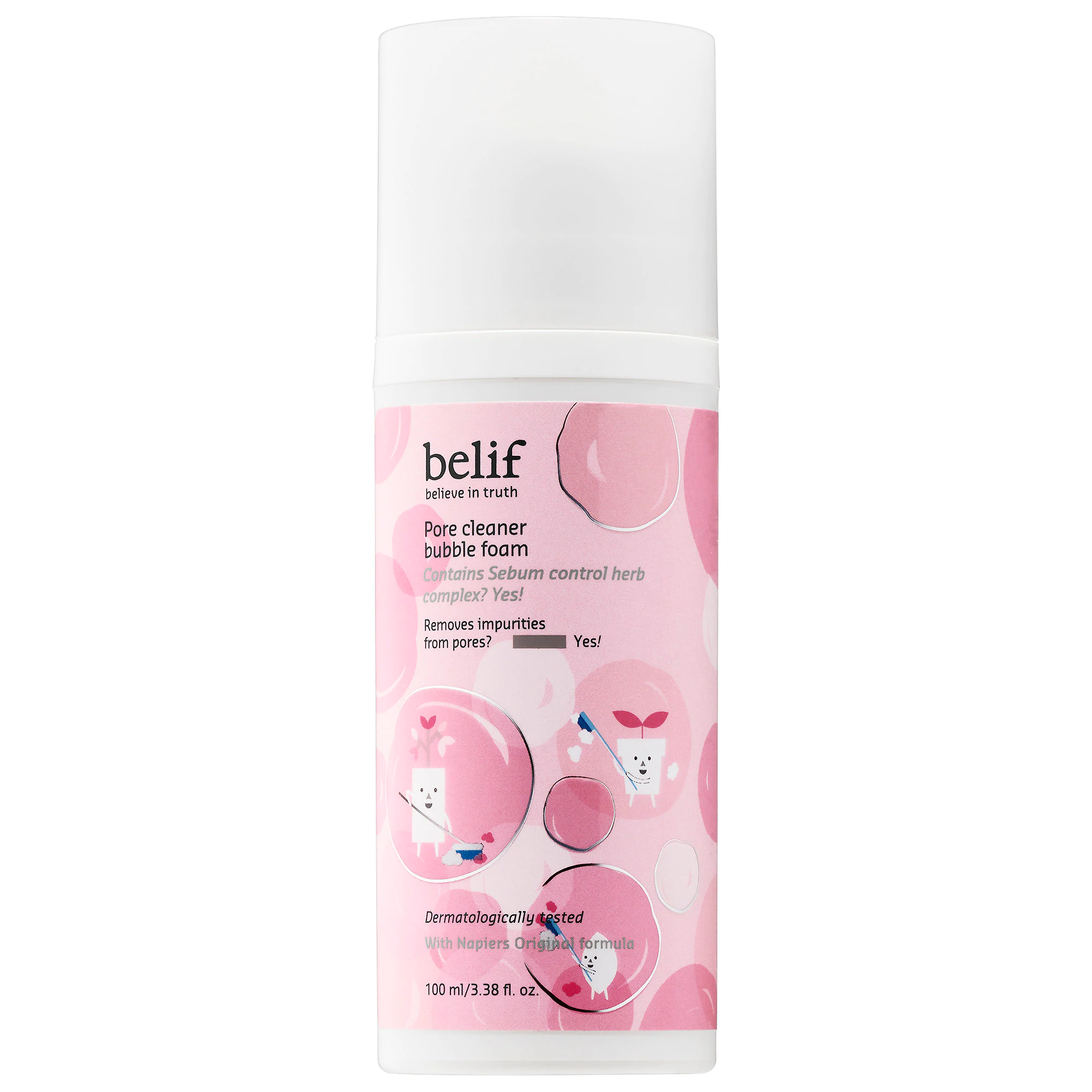 Belif Pore Cleaner Bubble Foam
