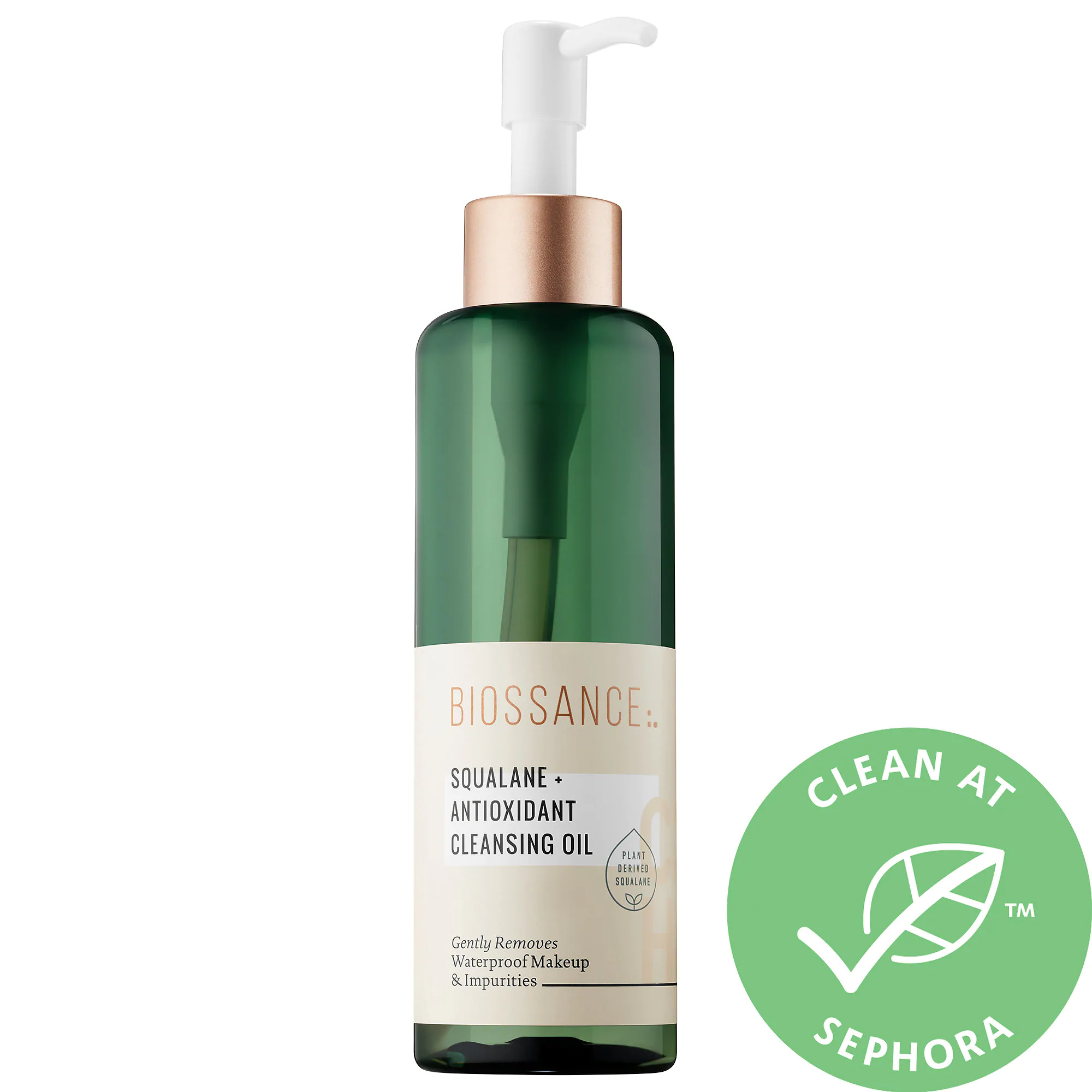 Biossance Squalane + Antioxidant Cleansing Oil