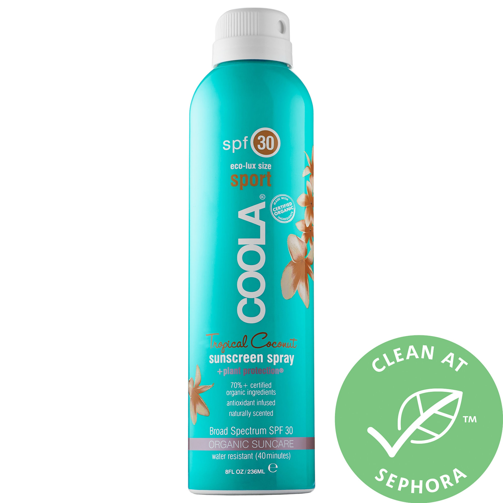 COOLA Sport Continuous Spray Spf 30 - Tropical Coconut