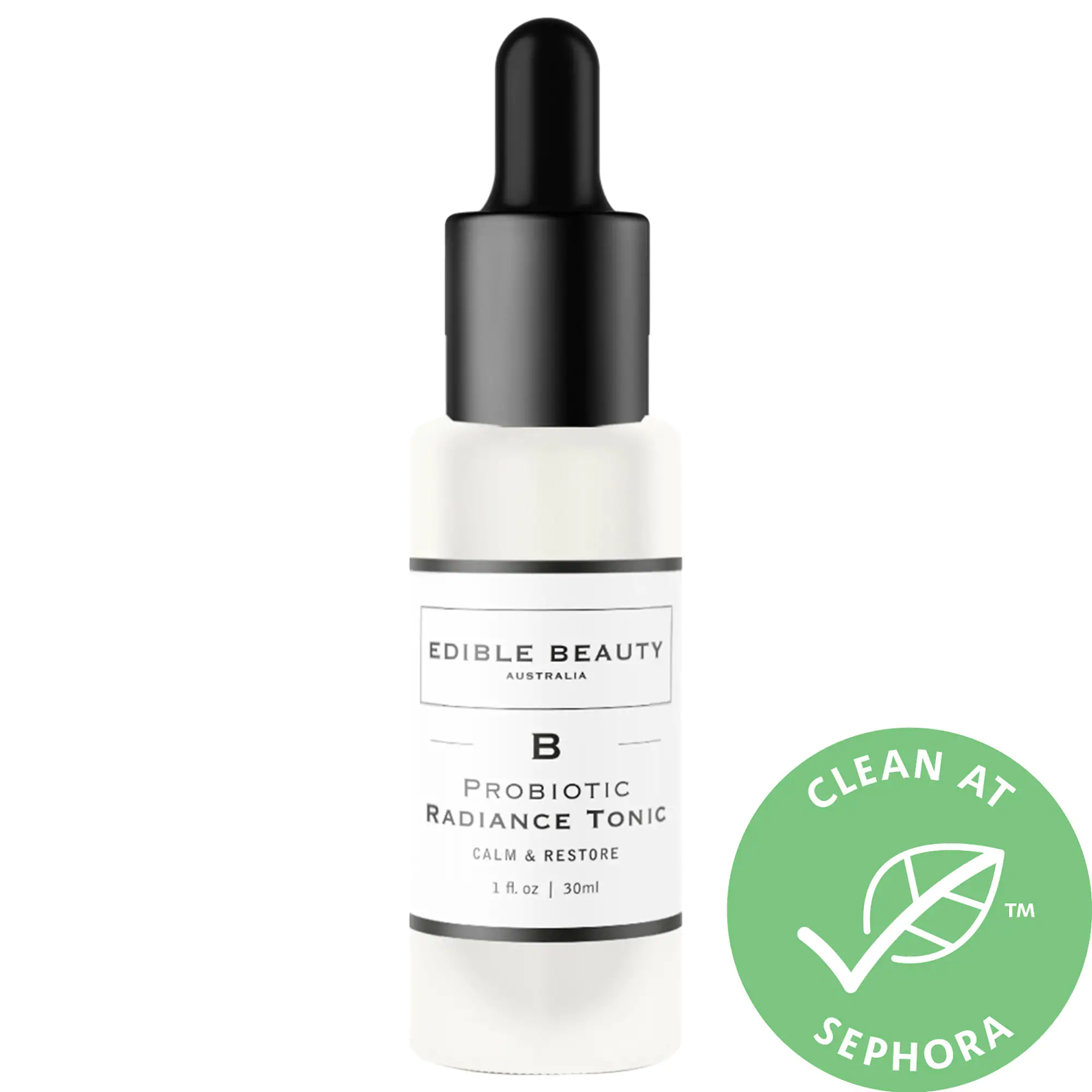 Edible Beauty Probiotic Radiance Tonic  Serum Calm And Restore