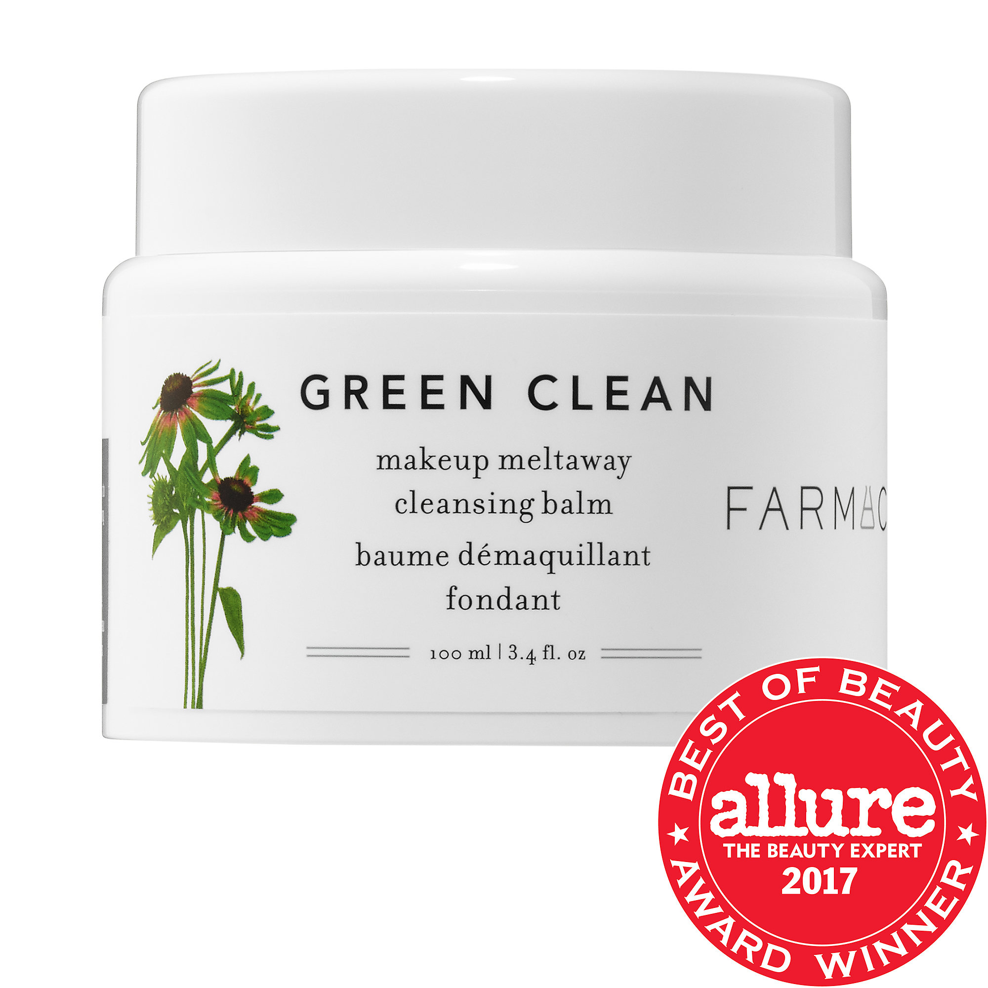 Farmacy-Green Clean Makeup Removing Cleansing Balm