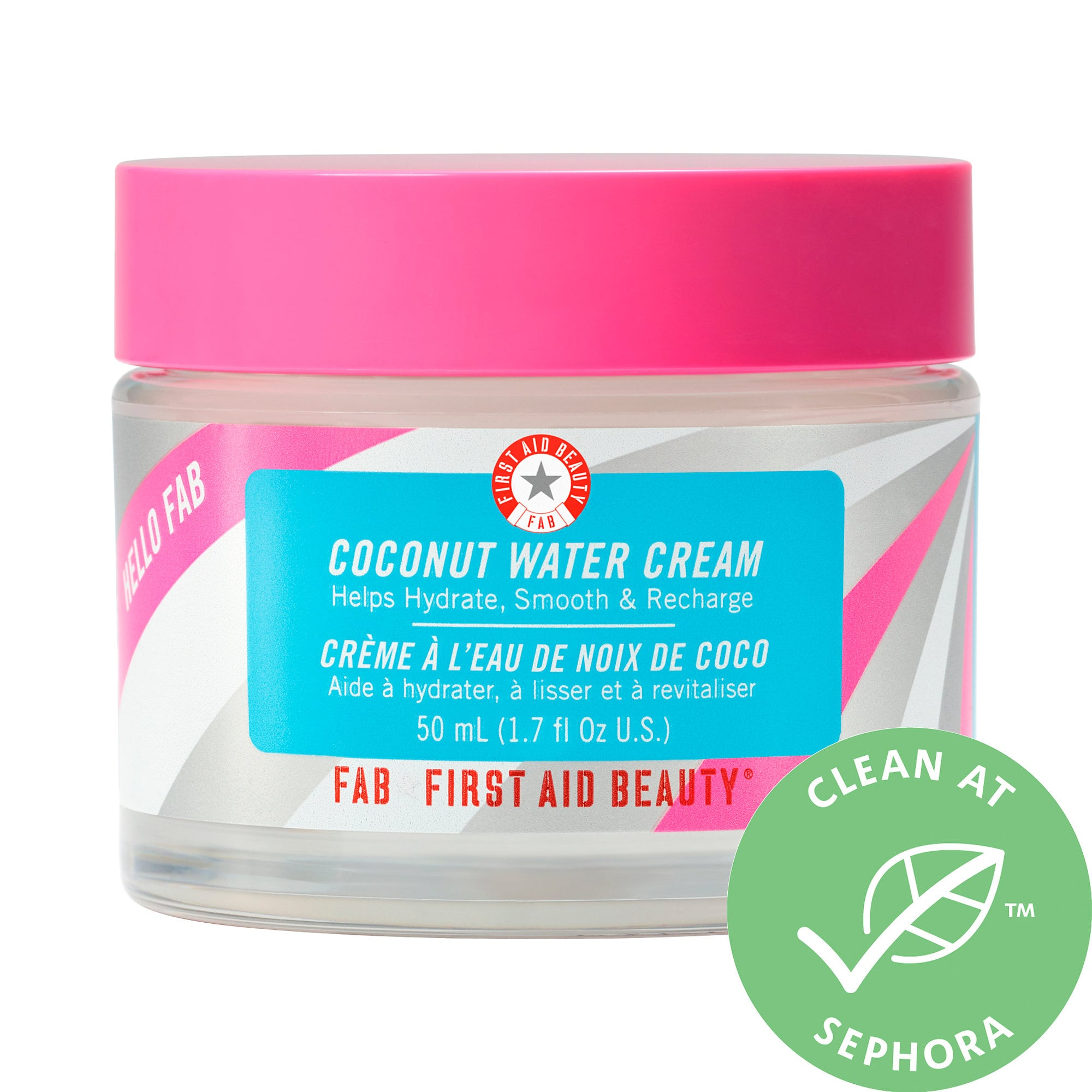 First Aid Beauty-Hello Fab Coconut Water Cream