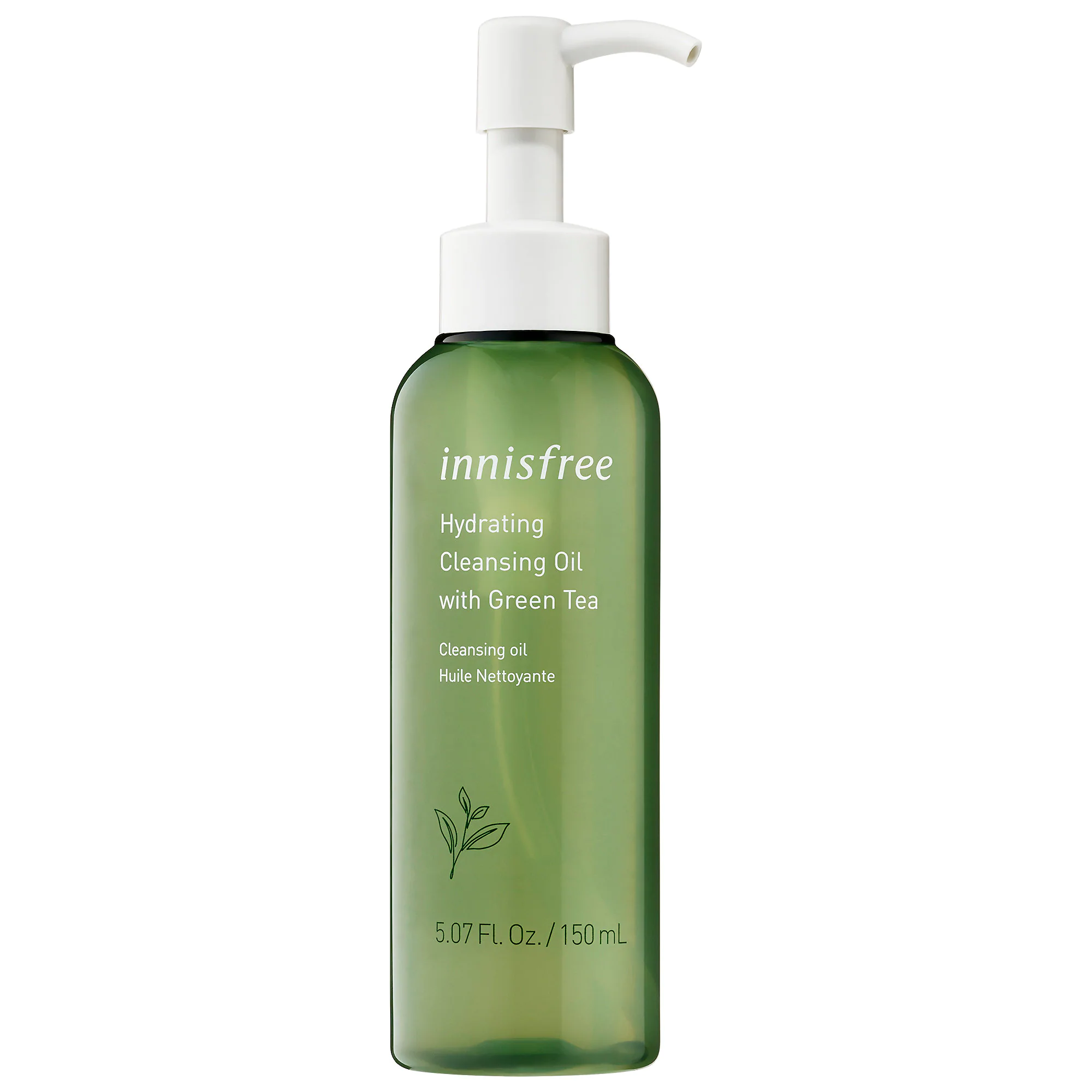 innisfree-Green Tea Hydrating Cleansing Oil