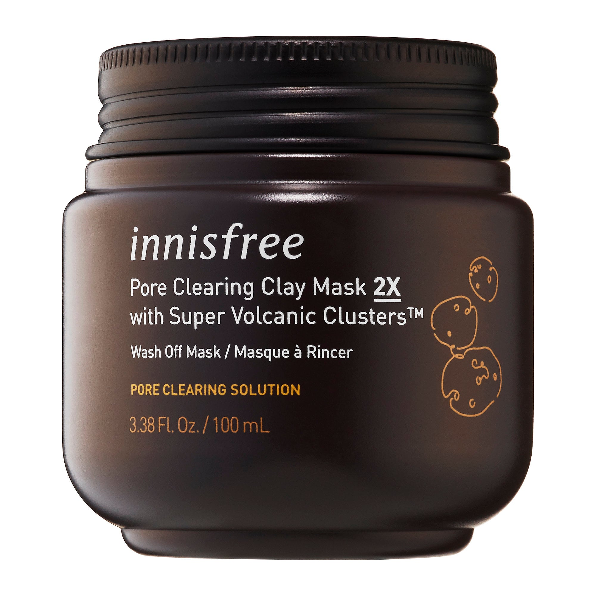 innisfree-Super Volcanic Clusters Pore Clearing Clay Mask