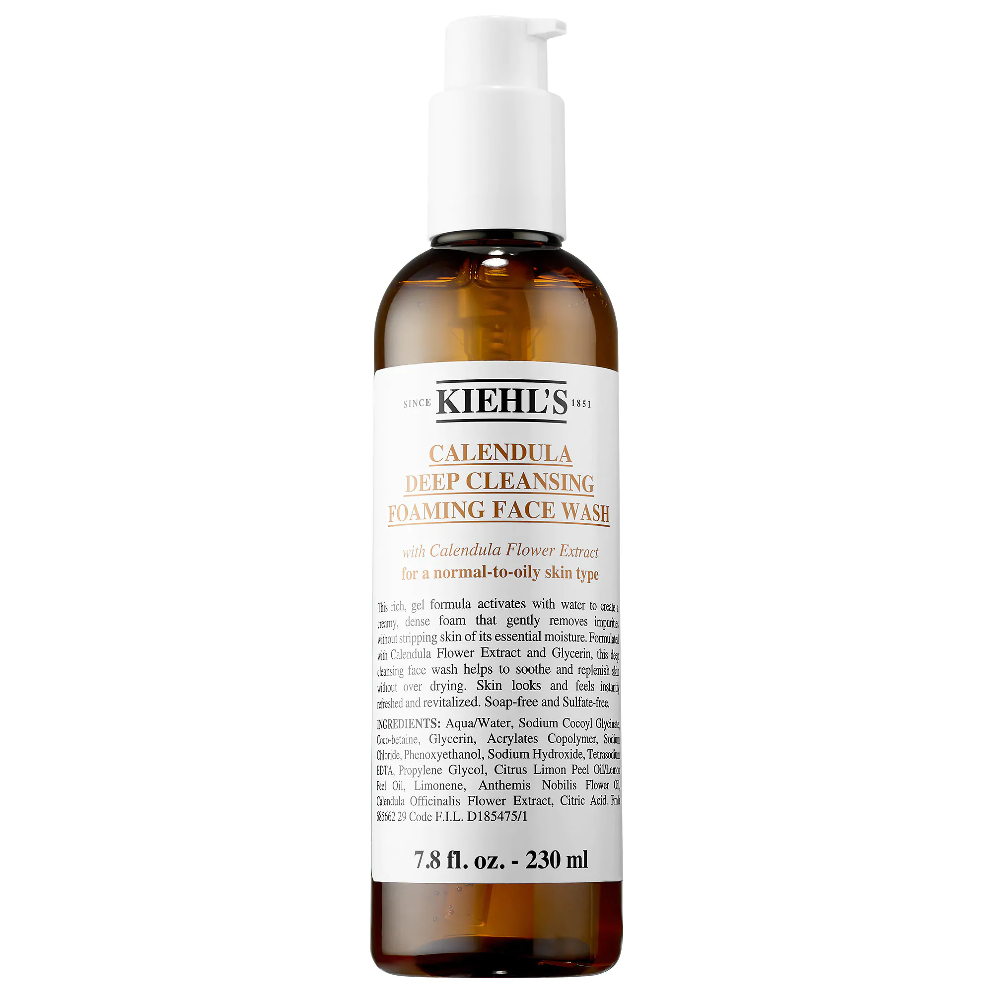 Kiehl's Since 1851-Calendula Deep Clean Foaming Face Wash