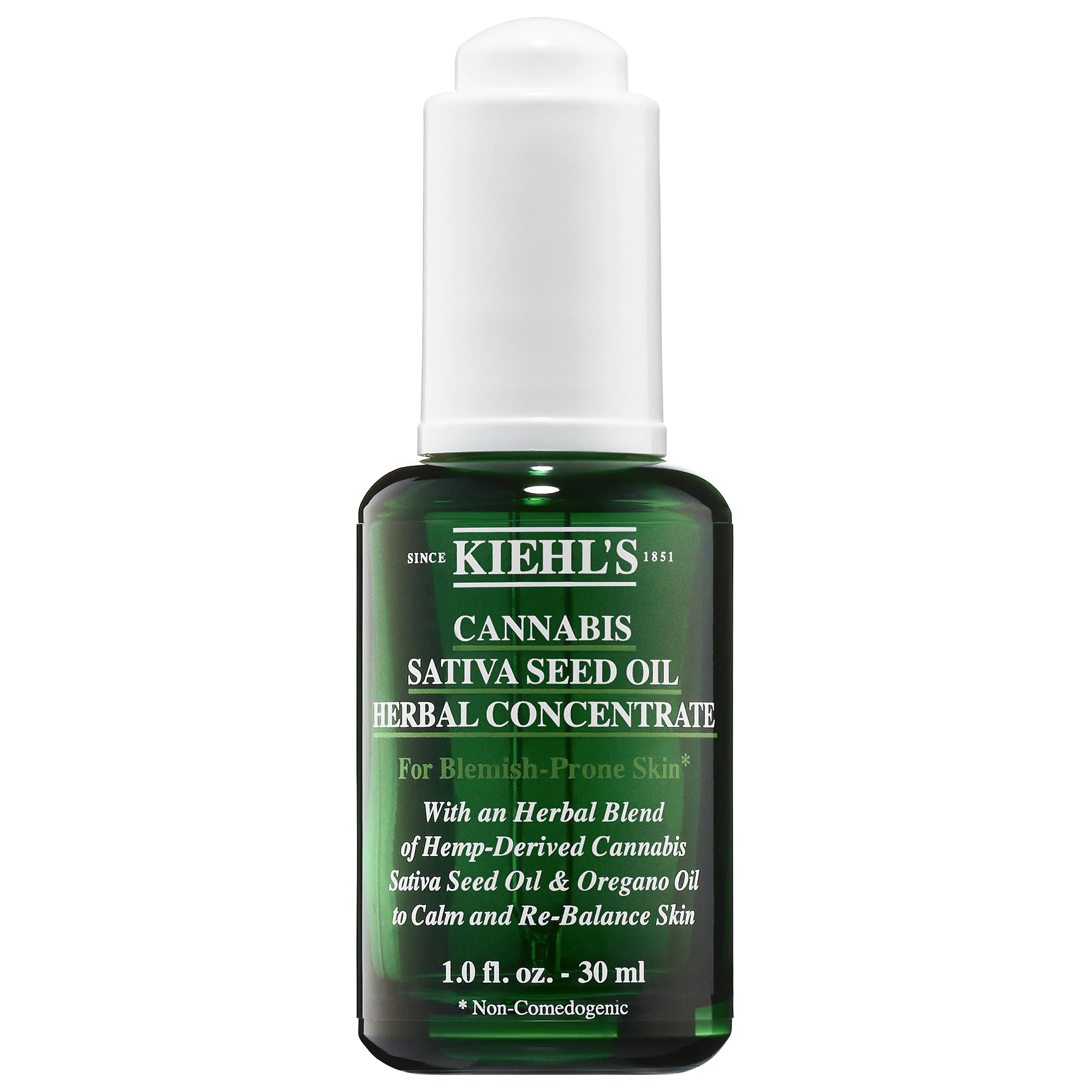 Kiehl's Since 1851-Cannabis Sativa Seed Oil Herbal Concentrate (Hemp-Derived)