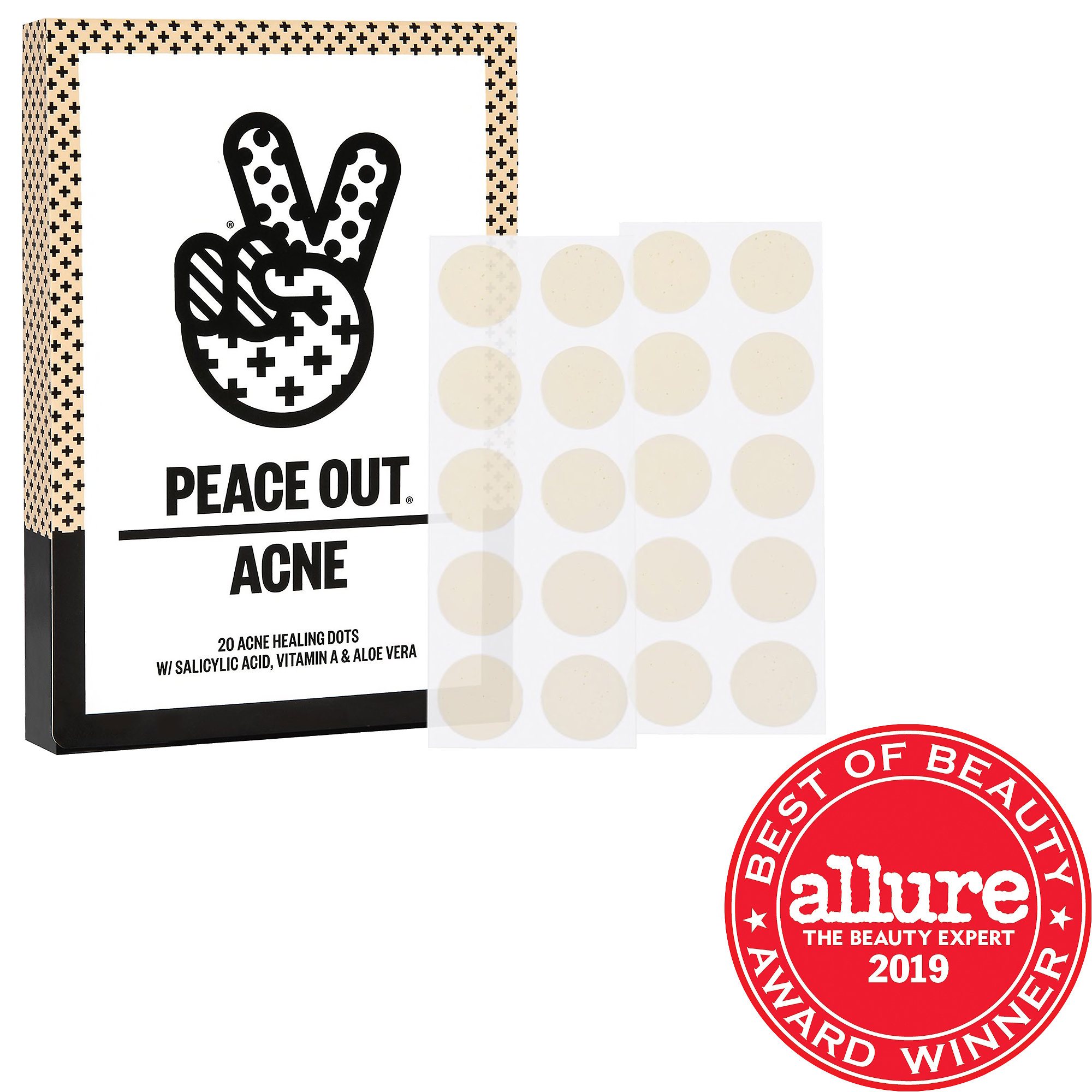 Peace Out-Acne Healing Dots