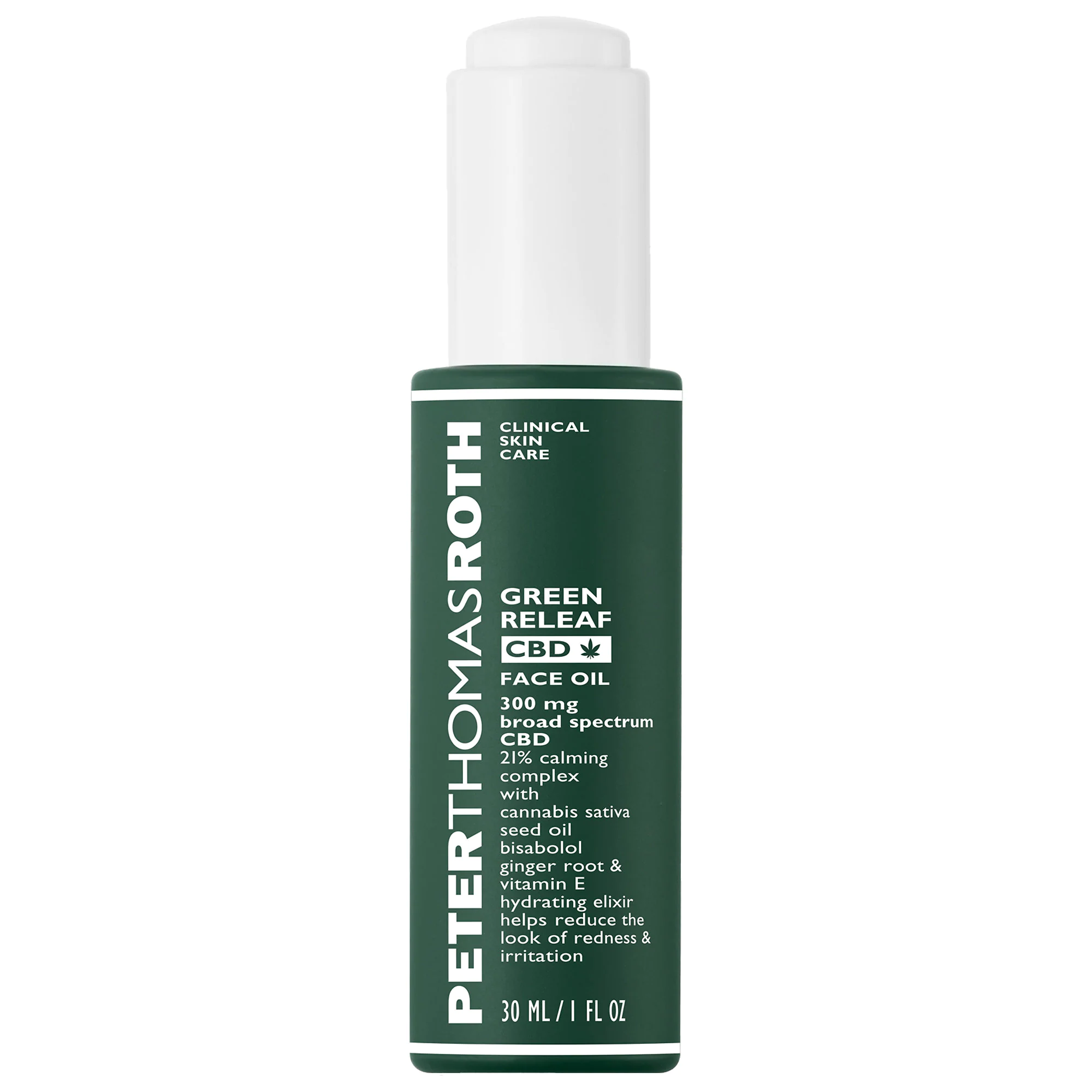 Peter Thomas Roth Green Releaf Cbd Calming Face Oil