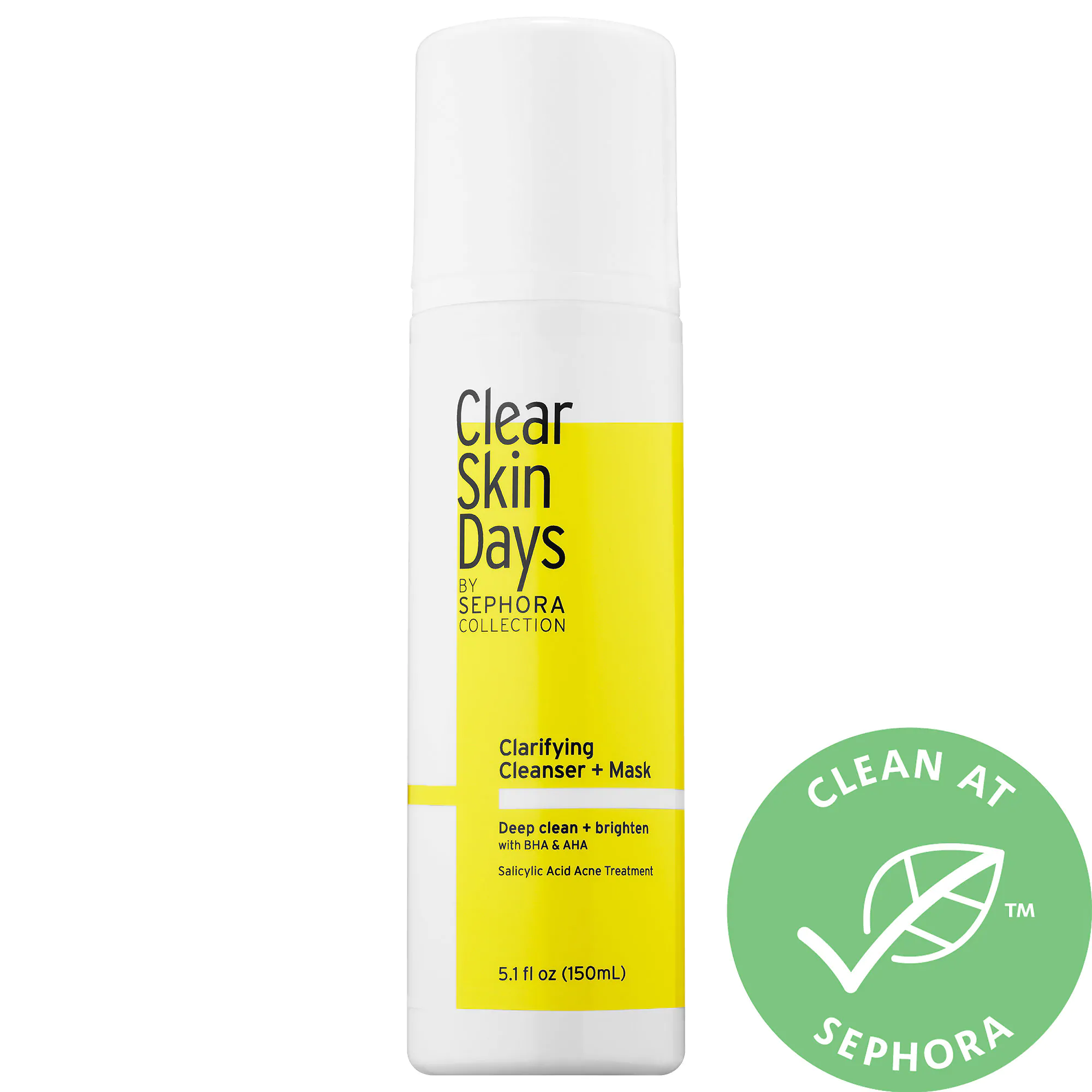 SEPHORA COLLECTION Clear Skin Days By Sephora Collection Clarifying Cleanser + Mask