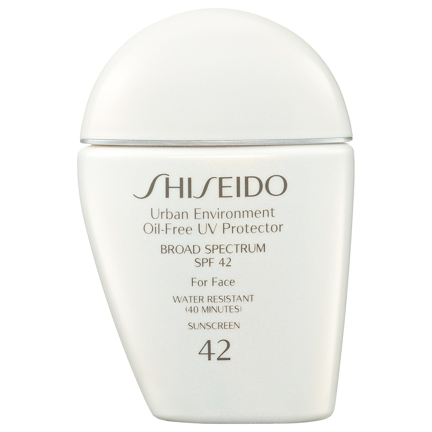 Shiseido Urban Environment Oil Free Uv Protector Broad Spectrum Face Sunscreen Spf 42 Ingredients And Reviews Seknd