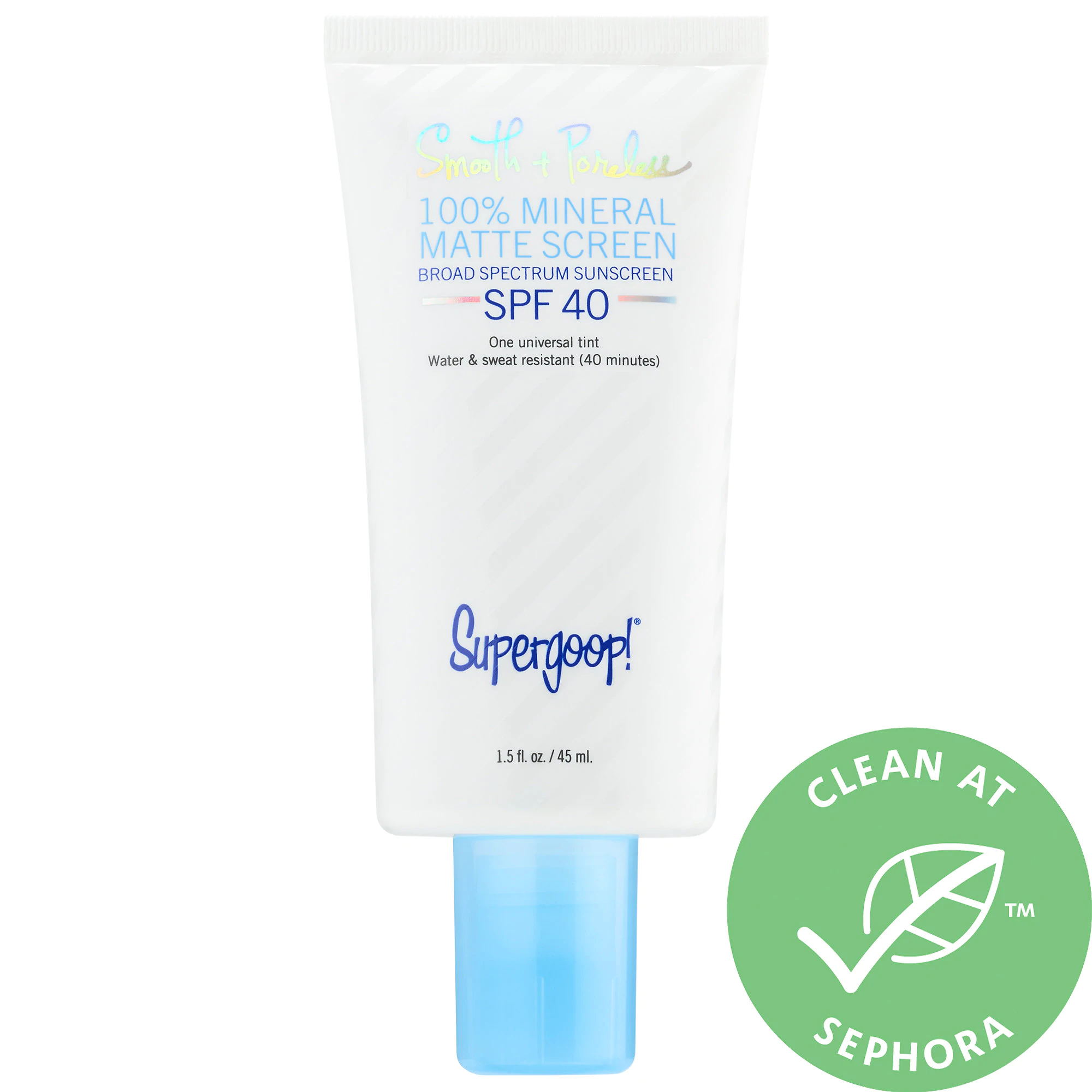 Supergoop! 100% Mineral Smooth & Poreless Matte Screen Spf 40