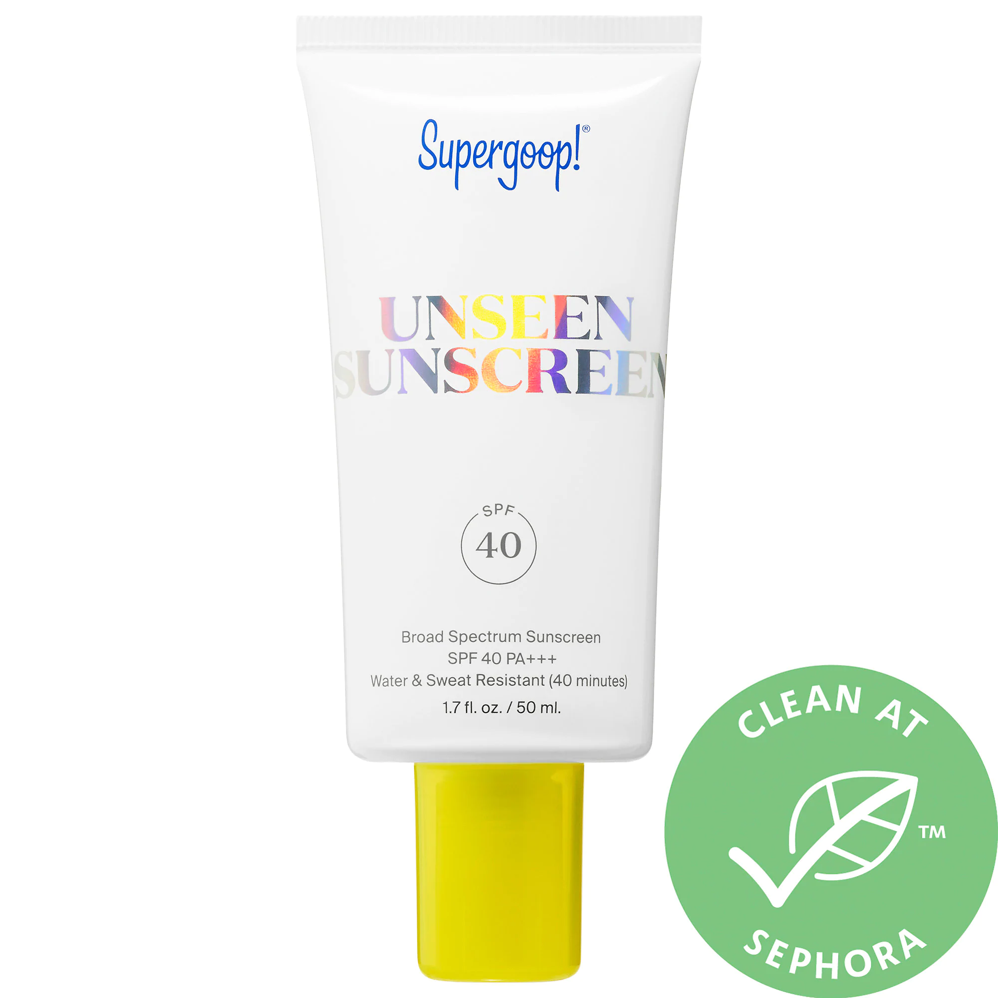 Supergoop! Unseen Sunscreen Spf 40