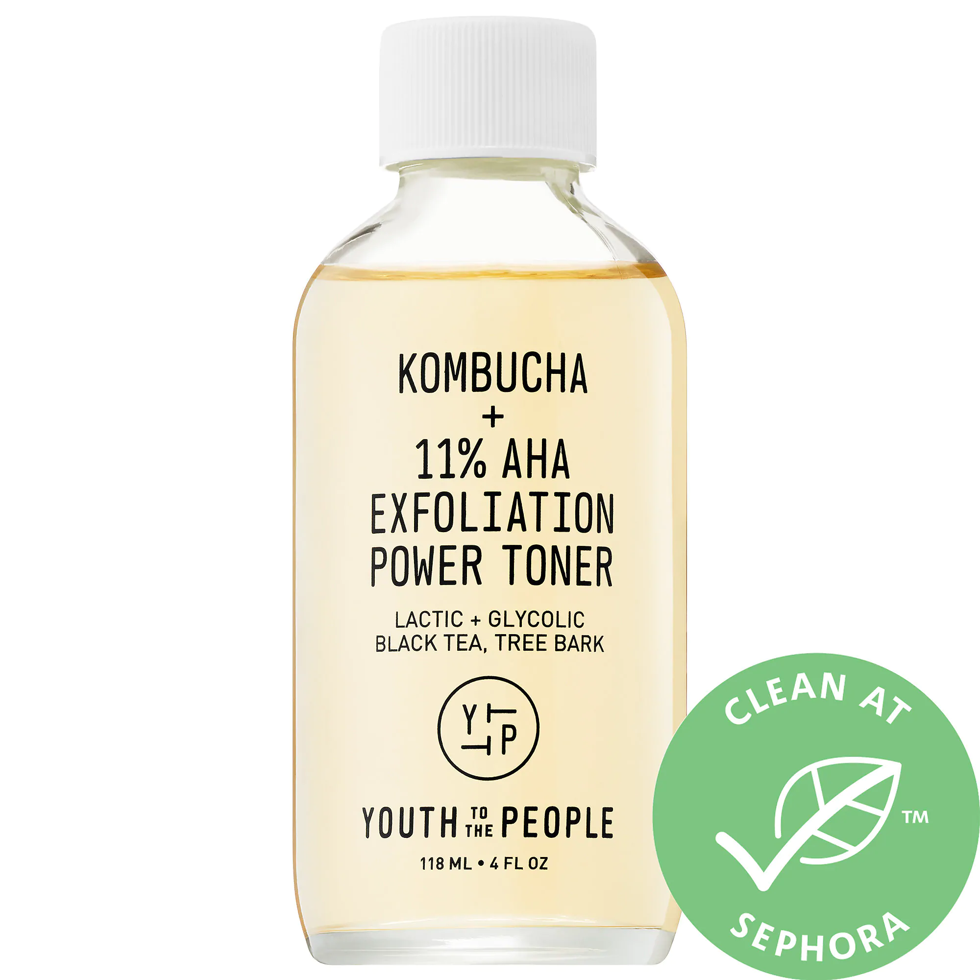 Youth To The People-Kombucha + 11% Aha Exfoliation Power Toner