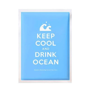 Adaline Keep Cool And Drink Ocean Face Mask