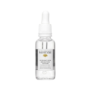 Aflorence Skincare Hydration Booster Serum With Lmw And Hmw Ha+4% Niacinamide